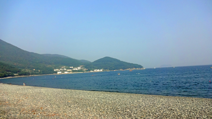 Pebble beach in Geoje !! ~Heukjinju-mongdolhaebyeon~