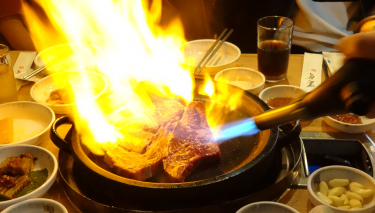 Affordable beef grilled meat ~ Joseonuihanu (조선의한우)~