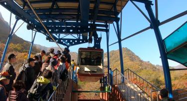 【YouTube連動】韓国旅行2019年11月②人気紅葉スポット内蔵山に行ってきました!